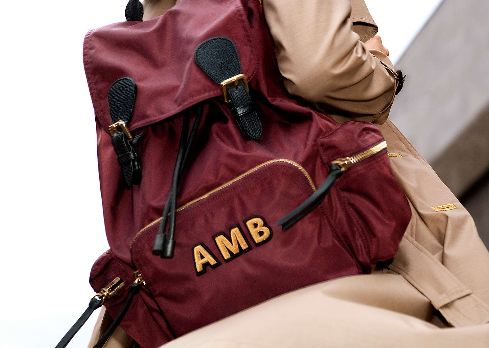 The Rucksack  Now available to monogram