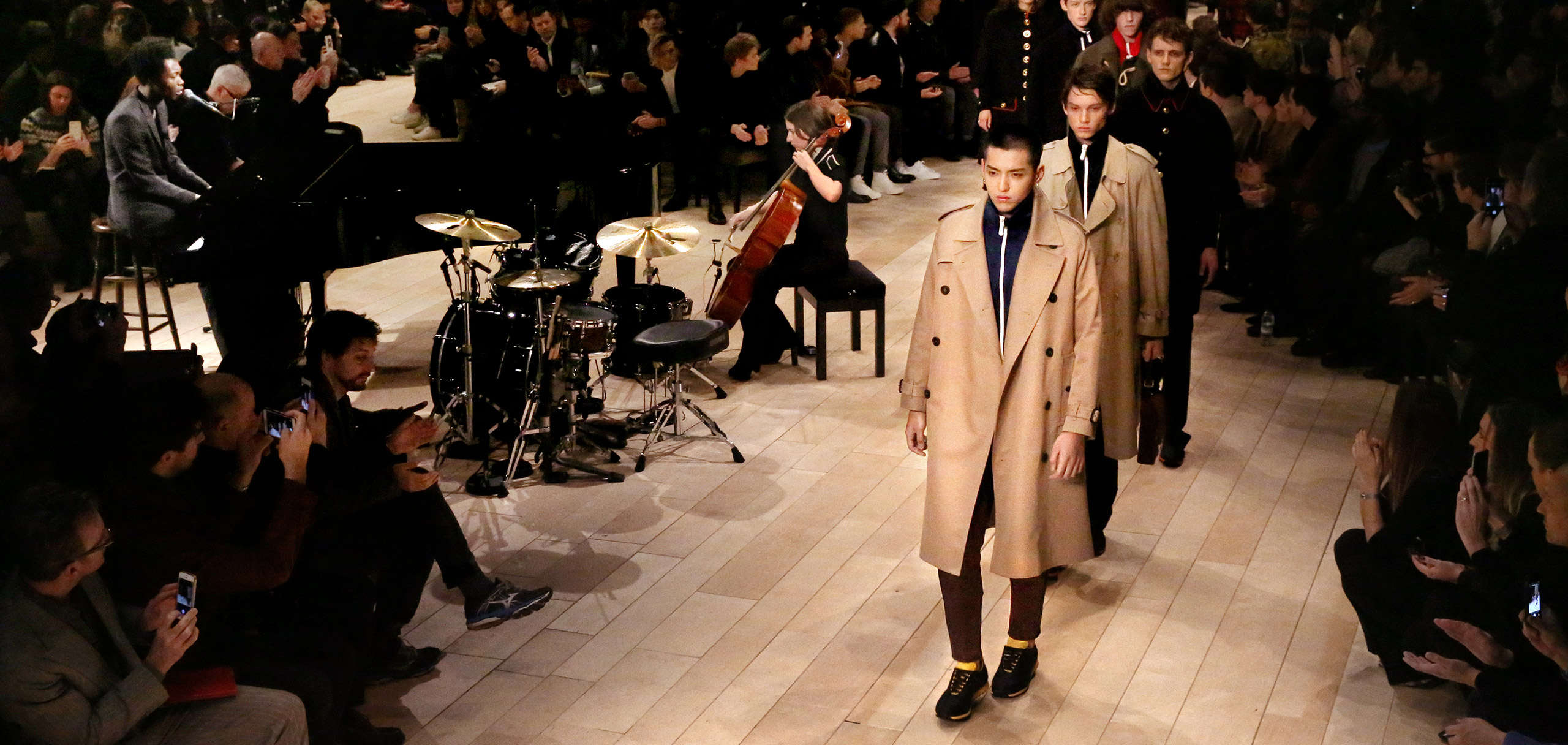 Menswear January 2016 show
