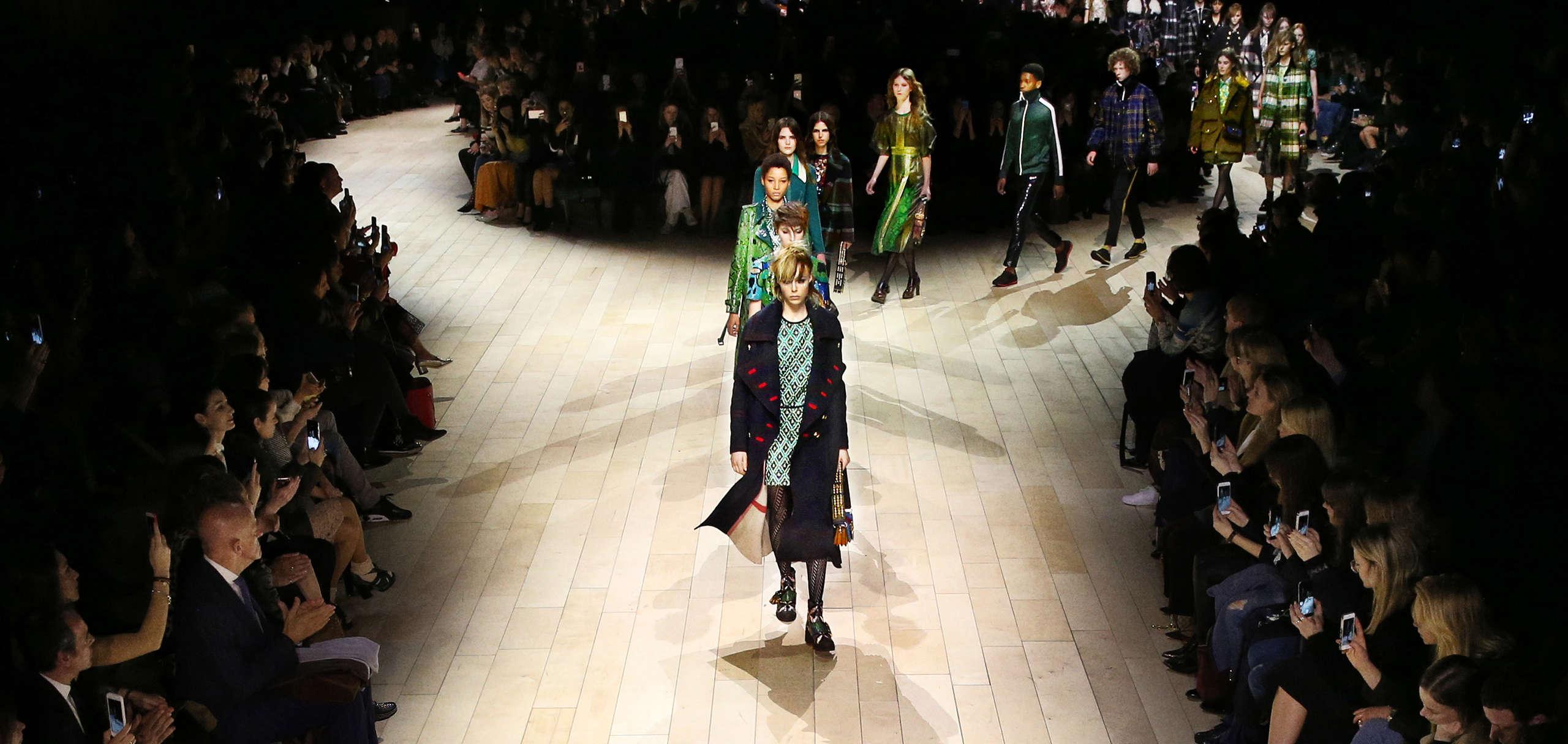 Womenswear February 2016 show